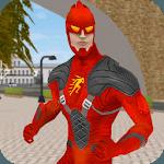 Flash Speed Hero:  Super Light Speed Hero City for pc logo