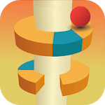 Jump Ball- Bounce On Tower Tile icon