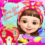 Sweet Baby Girl Clean House for pc logo