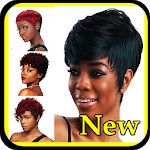 Black Women Short Haircut icon