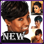 Short Natural Women Hairstyles icon