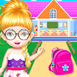 School Decorating Doll House Town My HomePlay Game icon