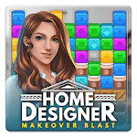 Home Designer - Match + Blast to Design a Makeover for pc logo