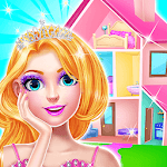 Doll House Decoration - Home Design Game for Girls icon