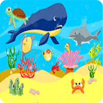 Animals in the Ocean - Nursery icon