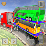 Bus Transport Trailer Truck Simulator 🚚 for pc logo