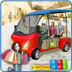Shopping Mall Rush Taxi: City Driver Simulator for pc logo