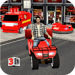 Multi Pizza Delivery Car:ATV Bike,Van & Bumper Car icon