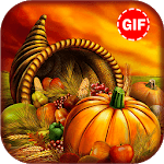 Thanksgiving Gif Stickers icon