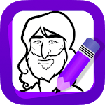 Learn How to Draw Jesus icon