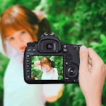 DSLR Camera : Blur Effect icon