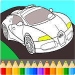 Cars Coloring Book Pages: Kids Coloring Cars icon