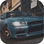 Drift Racing Nissan Skyline Simulator Game icon