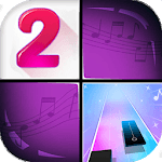 Piano Solo: Music Tiles - Piano Tiles Games for pc logo