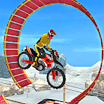 Subway Train - Bike Stunts icon