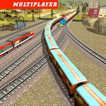 Train Race 3D for pc logo