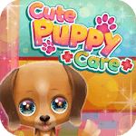 Cute Puppy Care - dress up games for girls icon