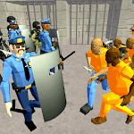 Battle Simulator: Prison & Police icon