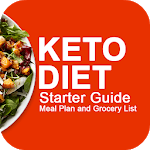 Keto Diet Starter Guide : Meal Plan Grocery List icon