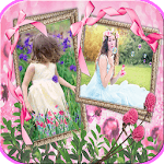 Photo Frames In Flowers icon