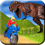 Fast Bike Racing in Dino World icon