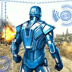 Iron Robot Superhero Rescue icon