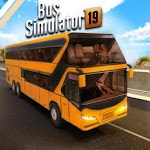 Euro Bus Driver Simulator 3D: City Coach Bus Games for pc logo
