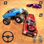 Monster Truck Car Crash Demolition Derby Games icon