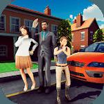 Family Dad Life: Dad Mom Simulator Games 2019 icon