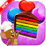 Cookie Smash Jerry - Cookie Crush Jam - Match 3 for pc logo