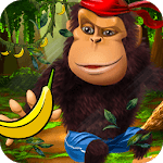 Monkey Run 3D Adventure 2018: Forest Running Games icon