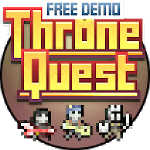 Throne Quest FREE DEMO RPG for pc logo