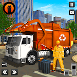 City Cleaner Garbage Truck: Truck Driving Games icon
