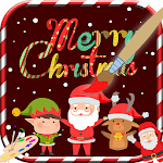 Latest Christmas Coloring Book Games icon
