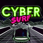 Cyber Surf Free for pc logo