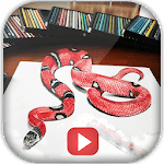 ✍️ Learn 3D Drawing By Videos icon