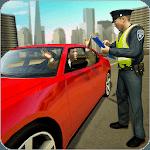 Traffic police officer traffic cop simulator 2018 icon