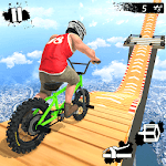 Mega Ramp Crash Stunts BMX Bike Racing Challenge icon