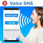 Voice Message Sender: write sms by voice icon