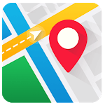 Real-time GPS, Maps, Routes, Direction and Traffic icon