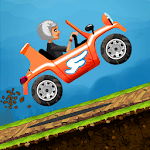 Angry Granny: Racing Car for pc logo