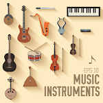 Educational Musical Instruments - Musical Games for pc logo