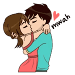WAStickerApps Lovely Couple Sticker icon