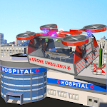 Drone Ambulance Simulator Game icon