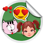 WAStickerApps - Best Stickers for WApp Stickers for pc logo