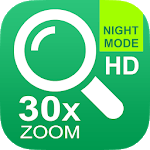 Magnifier Optical EyeGlasses 30x zoom Photo Video icon