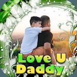 Love U Papa Photo Frame icon