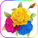 Wonderful Flowers Roses images Gif icon