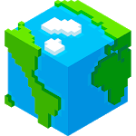 World Craft Block Building Game for pc logo