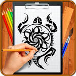 Learn How to Draw Tribal Tattoo Designs icon